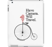Have Camera Will Travel Alt Version T-shirts & Gifts iPad Case/Skin