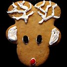 Rudolph Santa's Favorite Christmas Card by Pamela Burger