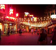 Downtown Disney Photographic Print