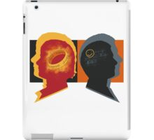 Two Personalities iPad Case/Skin
