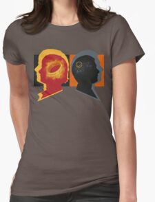 Two Personalities Womens Fitted T-Shirt