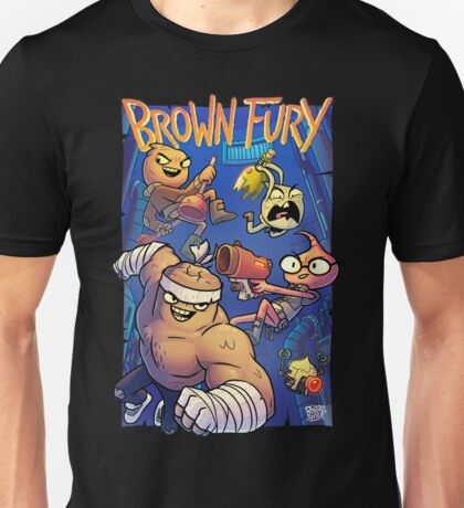 Brown Fury - Attack! Unisex T-Shirt