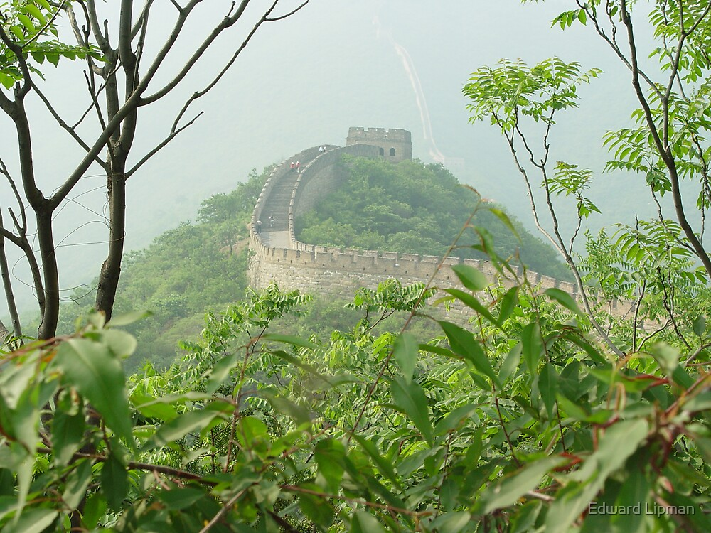 The Great Wall on a Sultry Summer Day by Edward Lipman