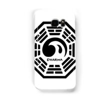 Dharma Wave Logo Samsung Galaxy Case/Skin