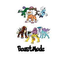 Beast Mode Pokemon Shirt Photographic Print