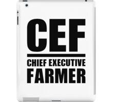 Chief Executive Farmer iPad Case/Skin