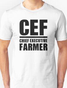 Chief Executive Farmer Unisex T-Shirt