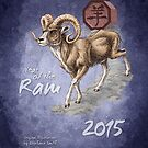 2015 Year of the Ram  by Stephanie Smith