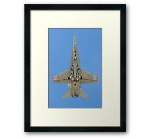 F/A-18 Hornet Framed Print