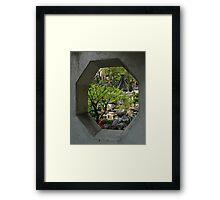 Yu Gardens, China Framed Print