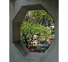 Yu Gardens, China Photographic Print