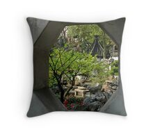 Yu Gardens, China Throw Pillow