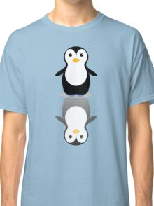 LONELY PENGUIN REFLECTING Classic T-Shirt