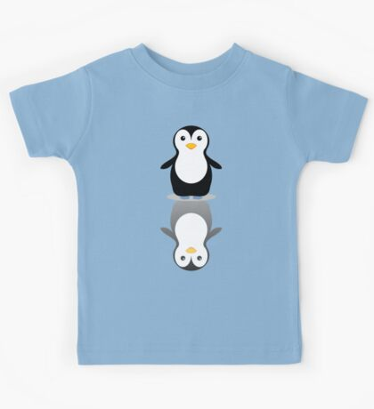 LONELY PENGUIN REFLECTING Kids Tee