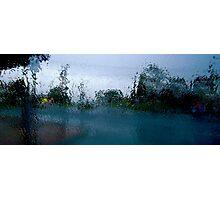 Rain Photographic Print