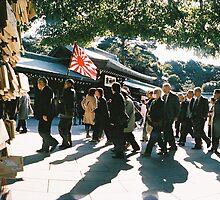 Taken at Tokyo Temple by Adrian Lander