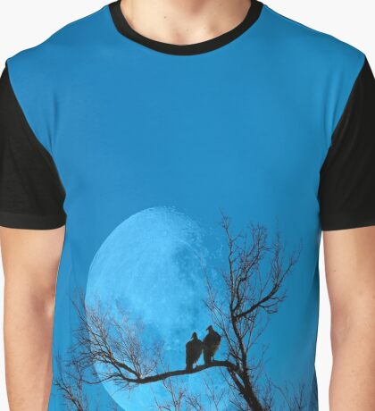 Moon Lover`s Graphic T-Shirt
