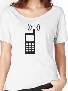 Cell phone Women's Relaxed Fit T-Shirt