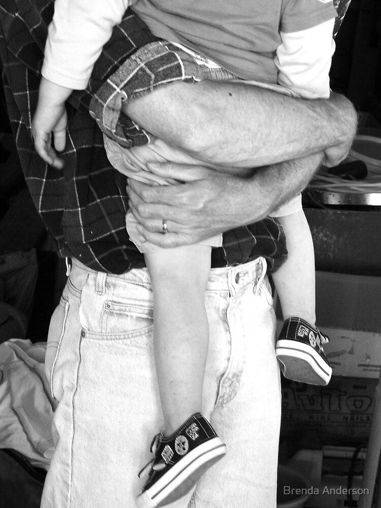 Dad's arms will hold you tight by Brenda Anderson