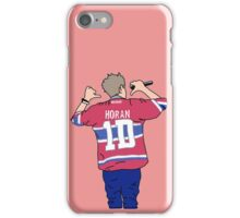 Niall Horan Jersey Cartoon (Red) iPhone Case/Skin