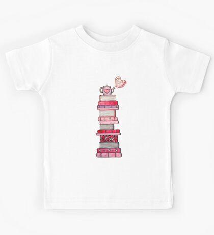 I Love Books and Books Love Me Kids Tee