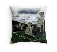 Corfe Chaos Throw Pillow