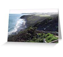 Coastline Australia  Greeting Card