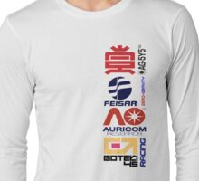 Wipeout Logos Long Sleeve T-Shirt