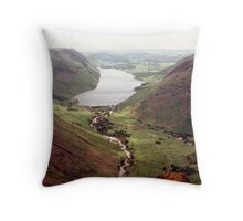 Wastwater from Great Gable Throw Pillow