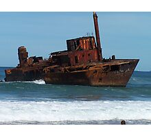 Shipwrecked on Stockton Beach Photographic Print