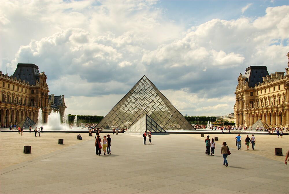 The Louvre by Craig Goldsmith