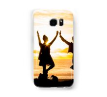 Sunset Yoga Samsung Galaxy Case/Skin