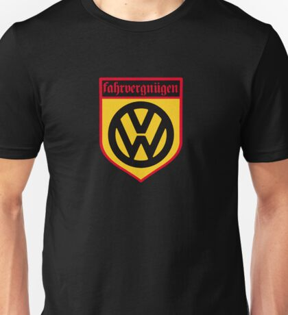 Fahrvergnugen (blk) Unisex T-Shirt