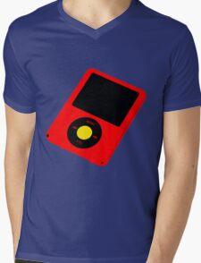 MP3 Mens V-Neck T-Shirt