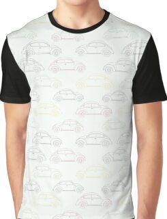 Classic Retro Cars Graphic T-Shirt