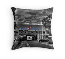 Swan Hunter Shipyard Throw Pillow