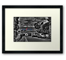 Swan Hunter Shipyard Framed Print