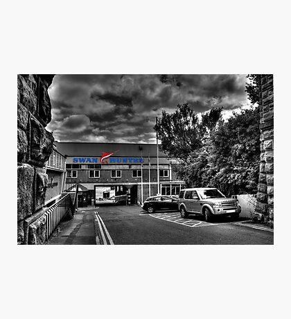 Swan Hunter Shipyard Photographic Print