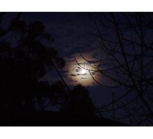 Bright Moon Photographic Print