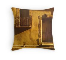 Housefront in Languedoc  Throw Pillow