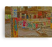 Camp 30 Cafeteria Canvas Print