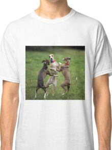 Wog Dogs Dancing Classic T-Shirt