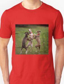 Wog Dogs Dancing Unisex T-Shirt