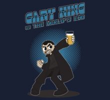 Gary King vs The World's End - Blue Kids Tee