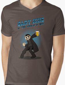 Gary King vs The World's End - Blue Mens V-Neck T-Shirt