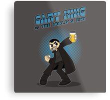 Gary King vs The World's End Metal Print