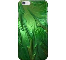 Emerald Flow iPhone Case/Skin