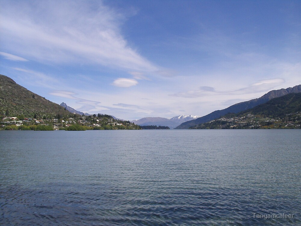 Frankton (Near Queenstown), New Zealand by Tanyamcaleer