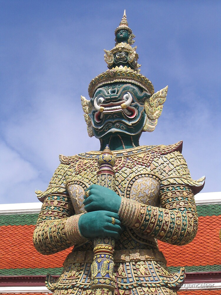The Grand Palace, Bangkok, Thailand  by Tanyamcaleer