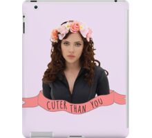 BW - Cuter Than You iPad Case/Skin